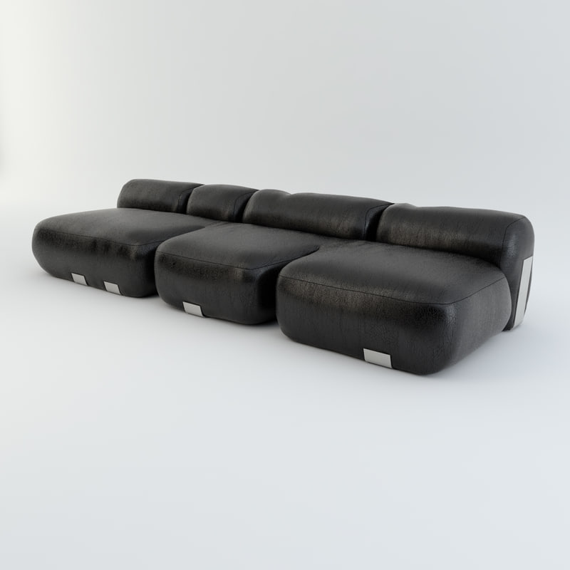 3d model dc105 sofa vincenzo cotiis