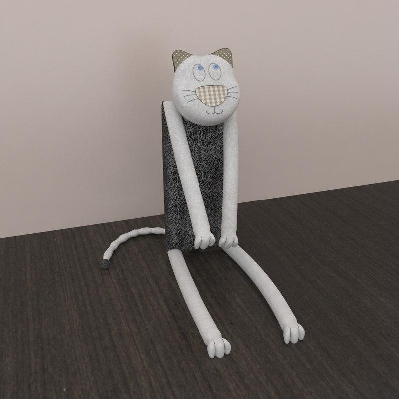 3d model cat vasily