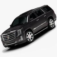 2015 cadillac escalade interior 3d 3ds