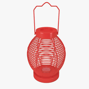 3d model lantern modern