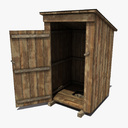 Outhouse 3D models