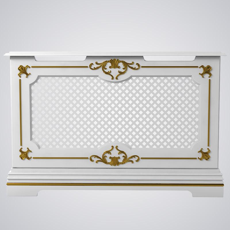 obj radiator screen