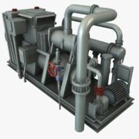 3d compressor polys udk