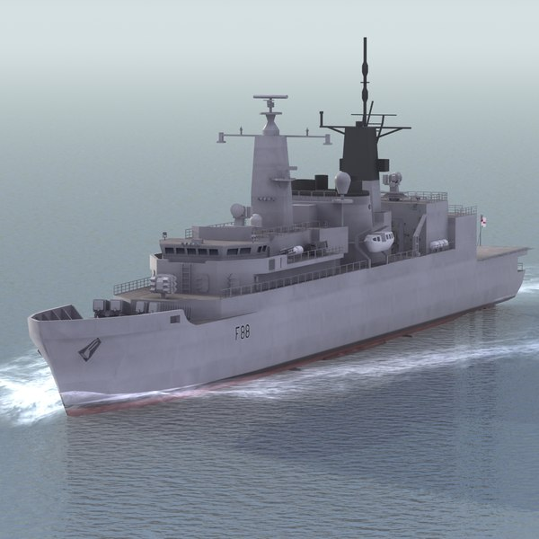type 22 frigate max