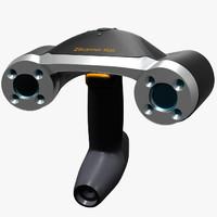 portable laser scanner 3d model