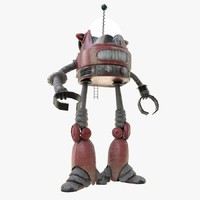 robot bot c4d