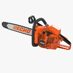 3d model chain saw