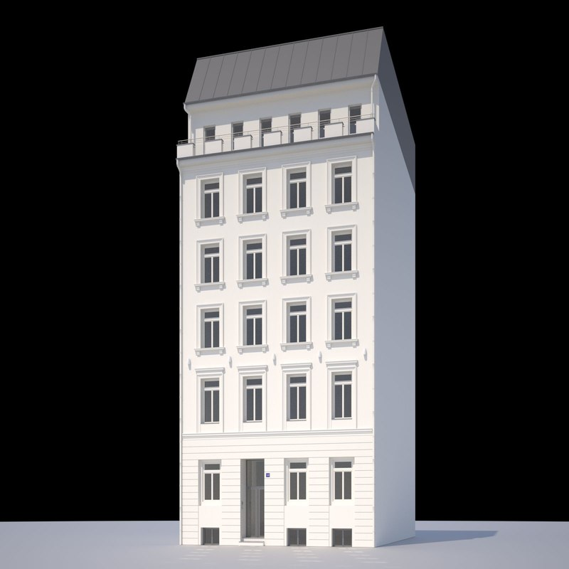 3ds max classic town house
