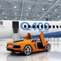 max aircraft hangar 2 q400