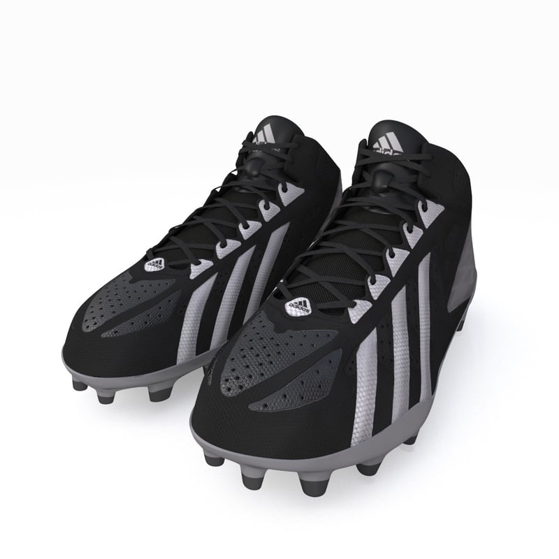 3ds max football cleats