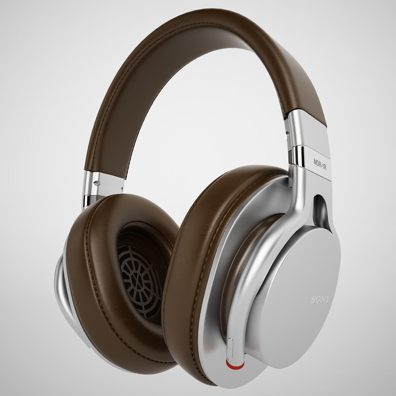 3d sony mdr-1r