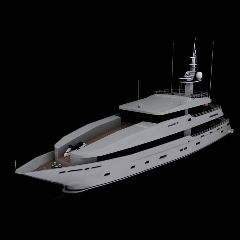 3d max charter cruise yacht