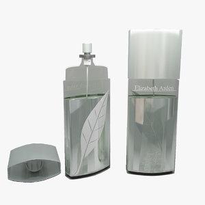 3d model elizabeth arden green tea