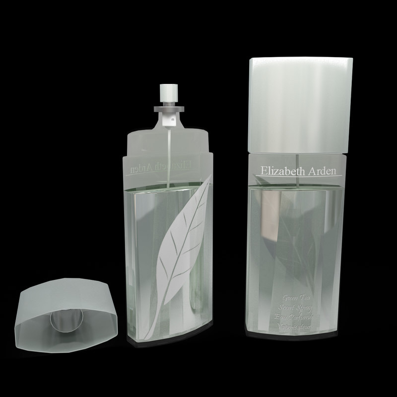 3d model elizabeth arden green tea
