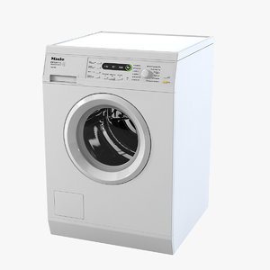3ds max miele edition 111 washing machine