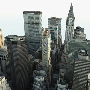 manhattan district 02 c4d