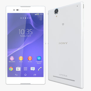 realistic sony xperia t 3d model