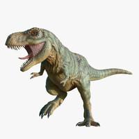 t-rex rigging rex 3d obj