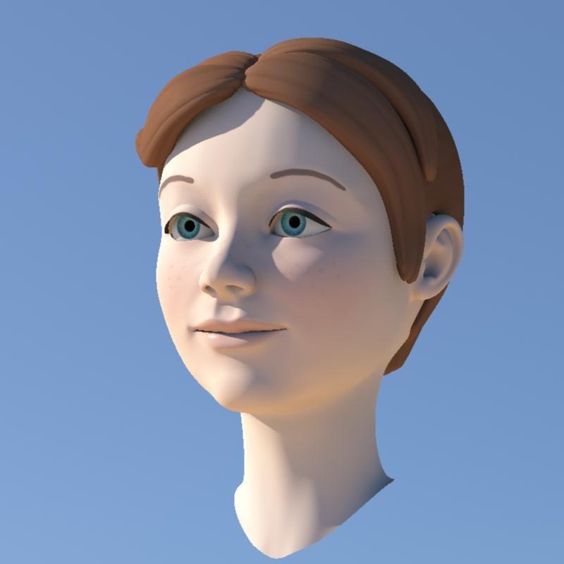 3ds max girl morphs