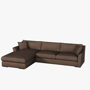 cts passion piuma sofa 3d model