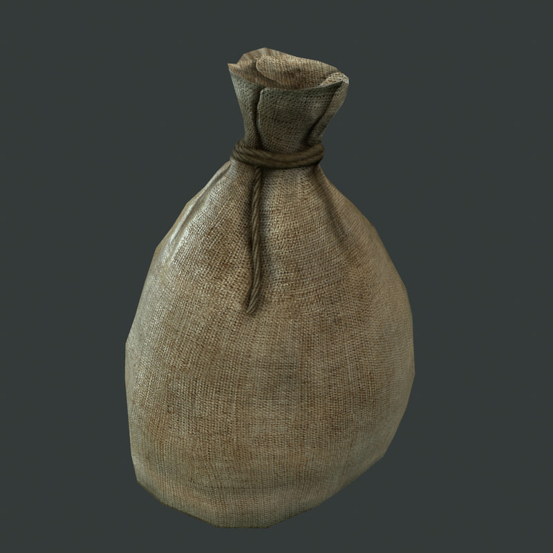 3ds max old canvas sack