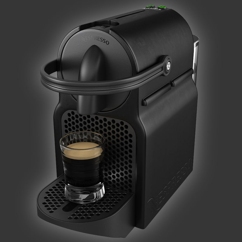 coffeemaker nespresso inissia magimix 3ds. Black Bedroom Furniture Sets. Home Design Ideas