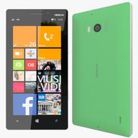 realistic nokia lumia 930 3d model