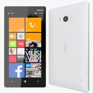 3d max realistic nokia lumia 930