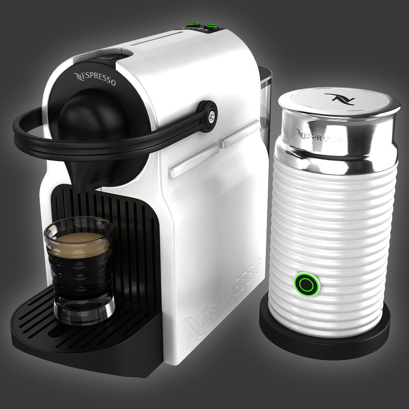 coffeemaker nespresso inissia krups 3d max. Black Bedroom Furniture Sets. Home Design Ideas