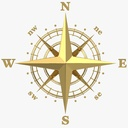 compass rose 3D models