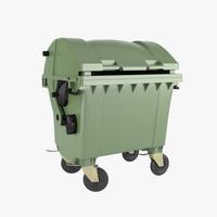 dumpster realistic 3d max
