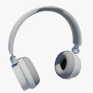 3d model urbanears zinken headphones