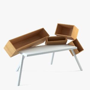 3d model of bram overdose desk