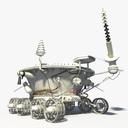 Lunar Rover Vehicle 3D models