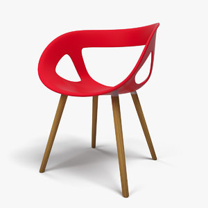 moema 69bl chair seat 3d model