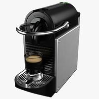 3d coffeemaker nespresso pixie magimix