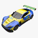rally car 3D models