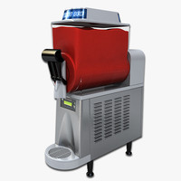 3d model frozen drink machine
