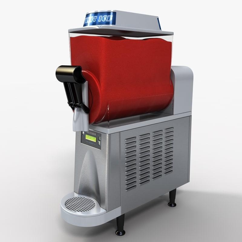 3d model frozen drink machine