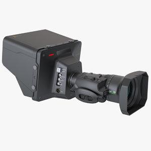 3d photoreal studio camera blackmagic