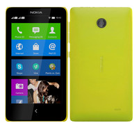 nokia x yellow 3d model