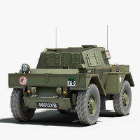 ww2 daimler dingo armored 3ds