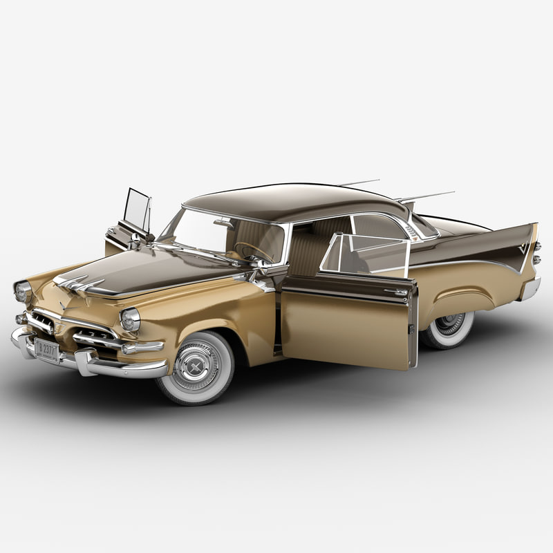 3d dodge royal golden lancer model