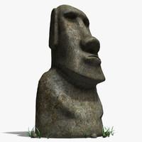 Maoi statue