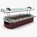 salad bar 3D models