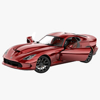 Dodge SRT Viper 2013 Rigged 2