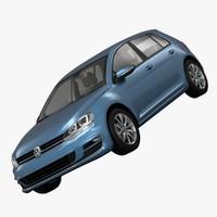 Volkswagen Golf 7 5-Door 2013