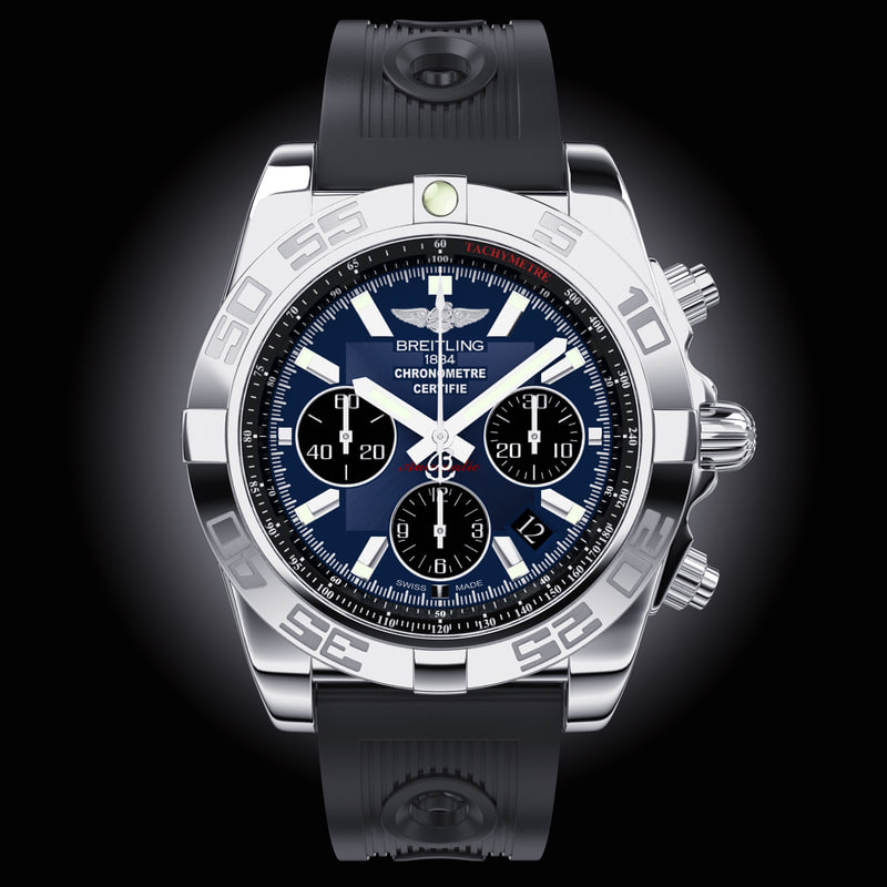 3d breitling chronomat ocean race model