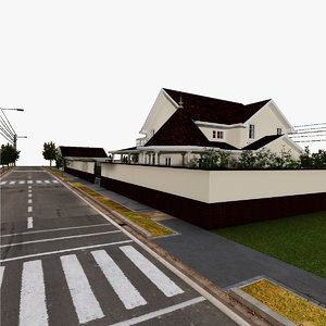 house 17 day 3d max