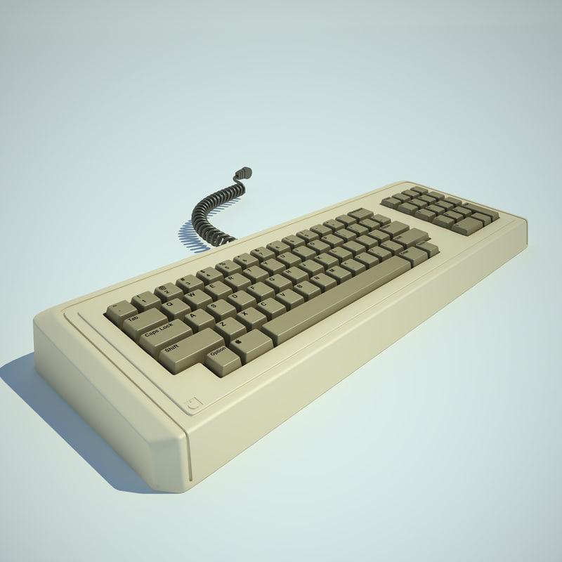 apple lisa computer 3d 3ds